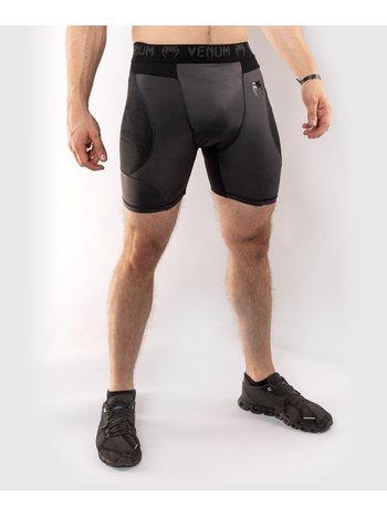 Venum Venum G-Fit Compression Shorts Grey Black