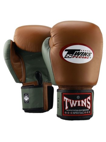 Twins Special Twins Fightgear Boxhandschuhe BGVL 3 Retro Military