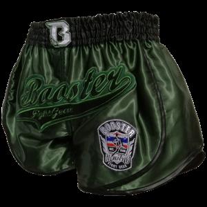 Booster Booster Muay Thai Short Retro Slugger 2 Groen