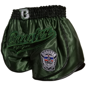 Booster Booster Muay ThaiShorts Retro Slugger 2 Green