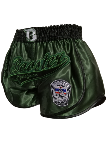 Booster Booster Muay Thai Shorts Retro Slugger 2 Grün