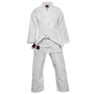 Essimo Karatepak Kensu Wit Karate Gi met witte band Essimo