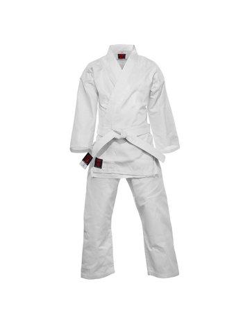 Essimo Essimo Karate AnzugKennst weiß Karate Gi mit weißem Gürtel
