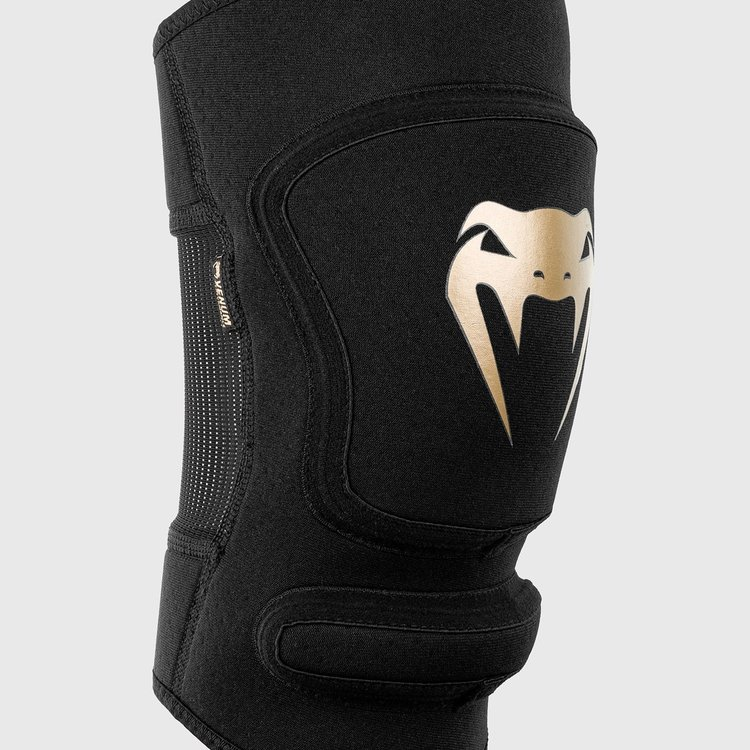 Venum Venum Kontact Evo Grappling MMA Knee Pads Black Gold