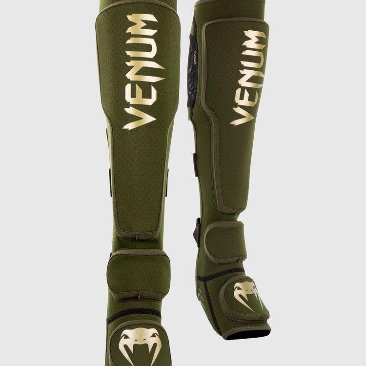 Venum Venum KONTACT EVO MMA Shinguards Khaki Gold