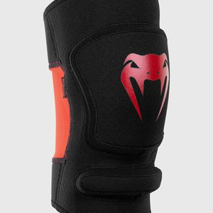 Venum Venum Kontact Evo Grappling MMA Knee Pads Black Red