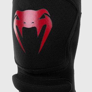 Venum Venum Kontact Evo Grappling MMA Knee Pads Black Red