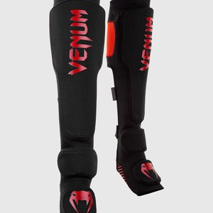 Venum Venum KONTACT EVO MMA Shinguards Black Red