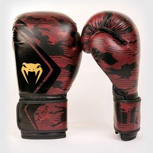 Venum Venum Defender Bokshandschoenen Zwart Rood Camo