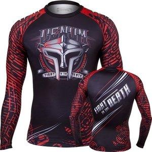 Venum Venum Clothing Gladiator Rashguard L/S Black Red