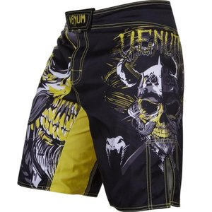 Venum Venum MMA Clothing Fight Shorts Viking Black Yellow