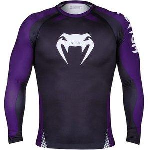 Venum Venum NOGI IBJJF ApprovedRashguard L/S Black Purple