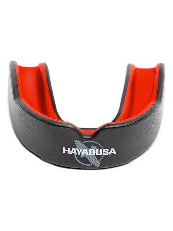Hayabusa Hayabusa Combat Mundschutz Schwarz Rot