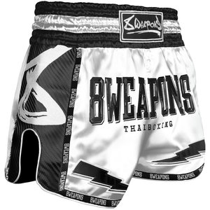 8 Weapons 8 Wapens Muay Thai Short Carbon Snow Night