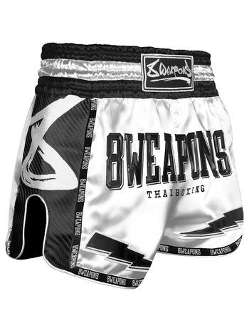 8 Weapons 8 Weapons Muay Thai Shorts Carbon Snow Night