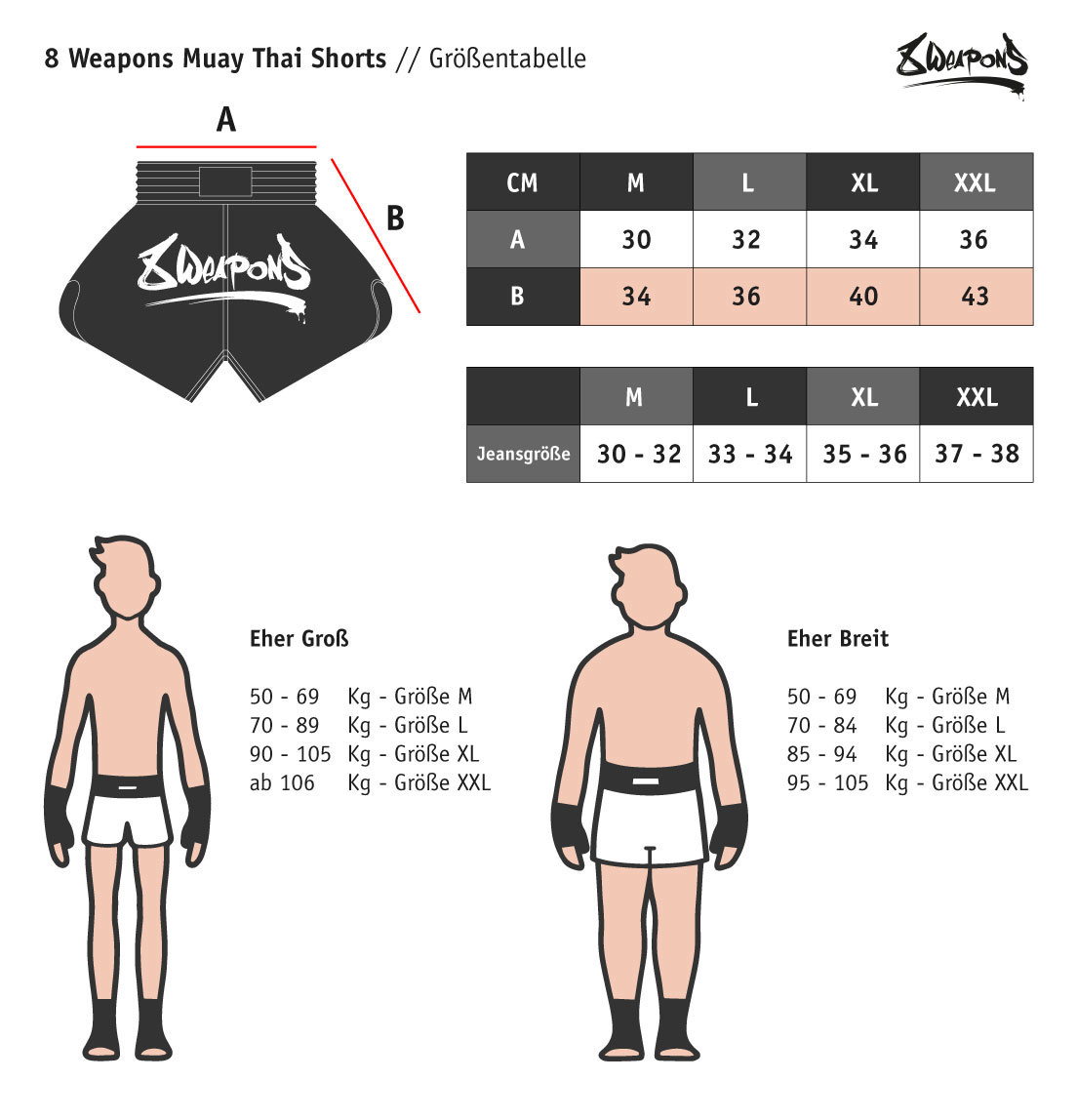 8 Weapons Shorts Red Dawn rot Carbon