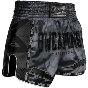 8 Weapons 8 Wapens Muay Thai Short Carbon Night Camo