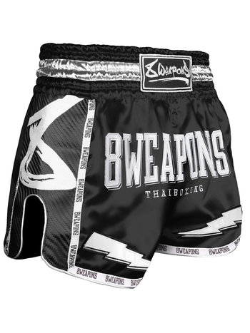 8 Weapons 8 Weapons Muay Thai Short Carbon Black Night 2.0