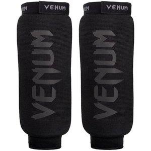 Venum Venum Kontact Scheenbeschermers Zwart op Zwart zonder Voet