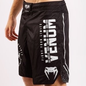Venum Venum SIGNATURE MMA Fightshorts Black White