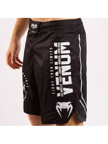 Venum Venum SIGNATURE MMA Fightshorts Zwart Wit