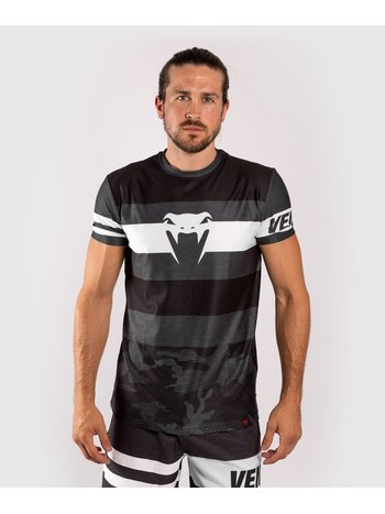 Venum Venum Bandit Dry Tech T-Shirt Schwarz Grau