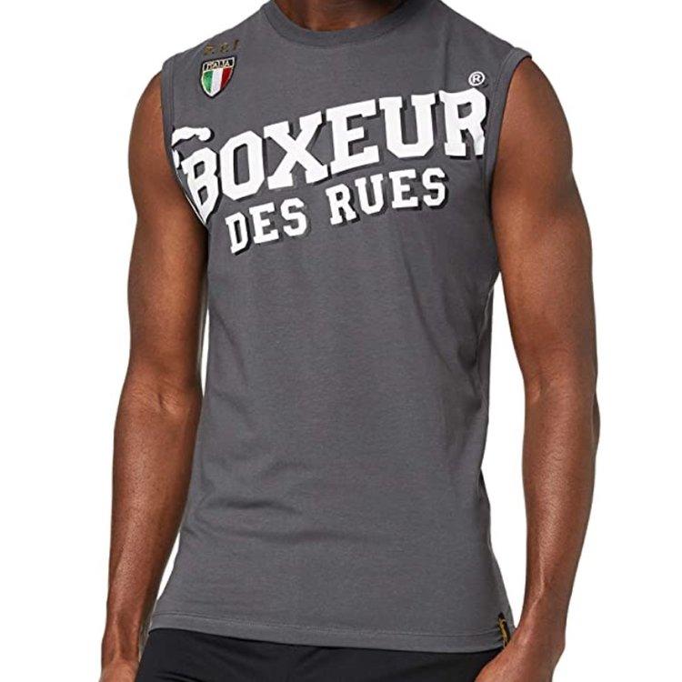 Boxeur des Rues Boxeur des Rues Man Tank Top Grey
