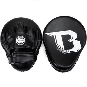 Booster Booster Xtrem F2 Hand Pads Curved Mitts Black White