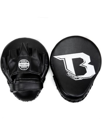 Booster Booster Xtrem F2 Hand Pads Curved Mitts Zwart Wit