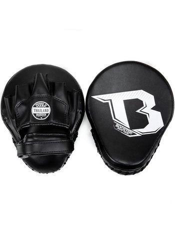 Booster Booster Xtrem F2 Handpads Gebogene Handschuhe Schwarz Weiß