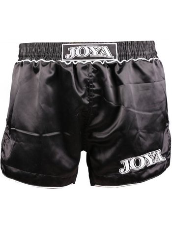 Joya Fight Wear Joya Fighter Muay Thai Kickboxing Short Zwart