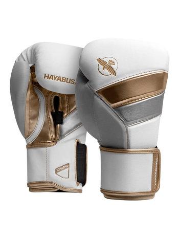 Hayabusa Hayabusa Boxhandschuhe T3 Weiss Gold