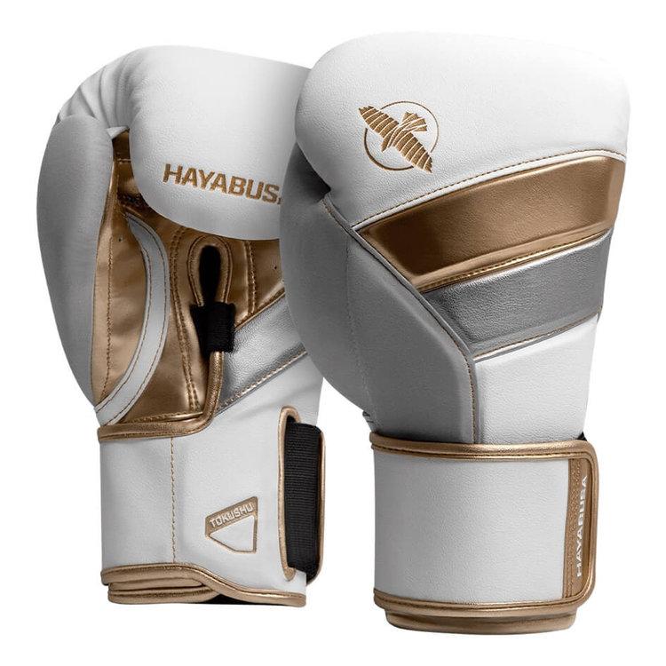 Hayabusa Hayabusa Boxing Gloves T3 White Gold