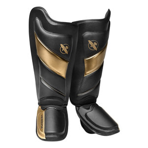 Hayabusa Hayabusa Kickboxing Shinguards T3 Black Gold