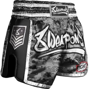 8 Weapons 8 Weapons Muay Thai Short Super Mesh City Camo