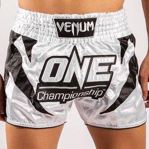 Venum Venum x ONE FC Muay Thai Shorts Wit Zwart