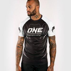 Venum Venum X ONE FC Dry Tech T-Shirt Black White