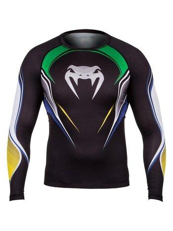 Venum Venum Brazilian HERO Compression T Shirt L/S Rash Guard
