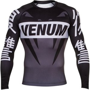 Venum Venum Revenge Rash Guard L/S Black Grey