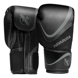 Hayabusa Hayabusa H5 Boxing Gloves Black Grey