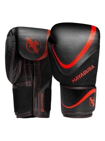 Hayabusa Hayabusa H5 Boxing Gloves Black Red