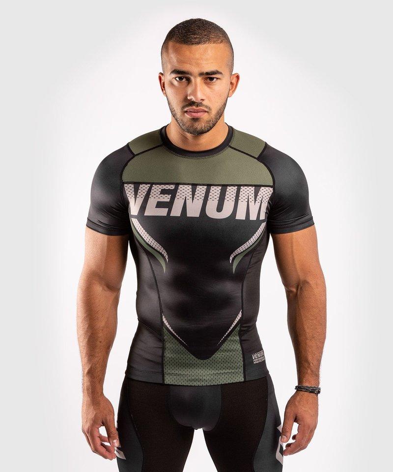 Venum Venum ONE FC Impact Rashguard S/S Black Khaki