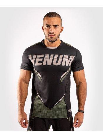 Venum Venum ONE FC Impact Dry Tech T-Shirt Schwarz Khaki
