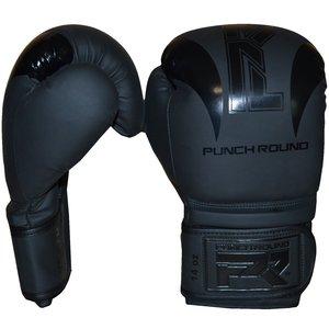 Punch Round™  Punch Round SLAM Boxing Gloves Black on Black