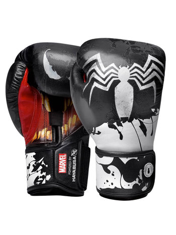 Hayabusa Hayabusa Symbiote Boxing Gloves by Marvel