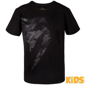 Venum Venum Kids T Shirt Tecmo Giant Zwart