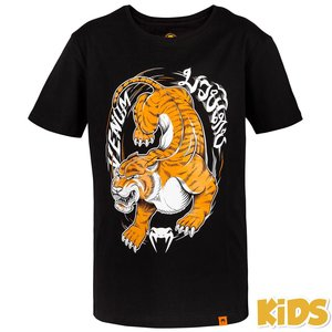 Venum Venum Tiger King Kids T Shirt Black