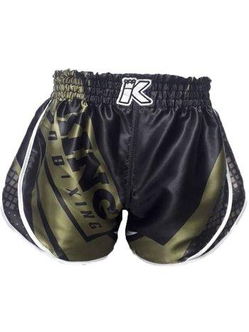King Pro Boxing King Stormking 1 Muay Thai Kickboks Broekje Zwart Groen