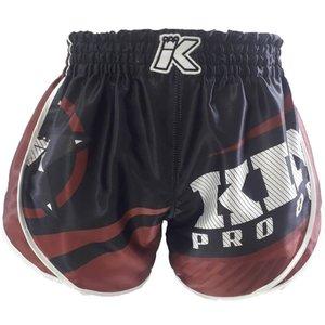 King Pro Boxing King Stormking 2 Muay Thai Kickboks Broekje Zwart Bruin