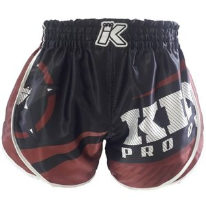 King Pro Boxing King Stormking 2 Muay Thai Kickboxing Shorts Black Brown